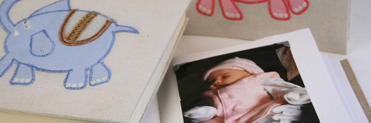 Little Baby Ele Handmade Photo Albums