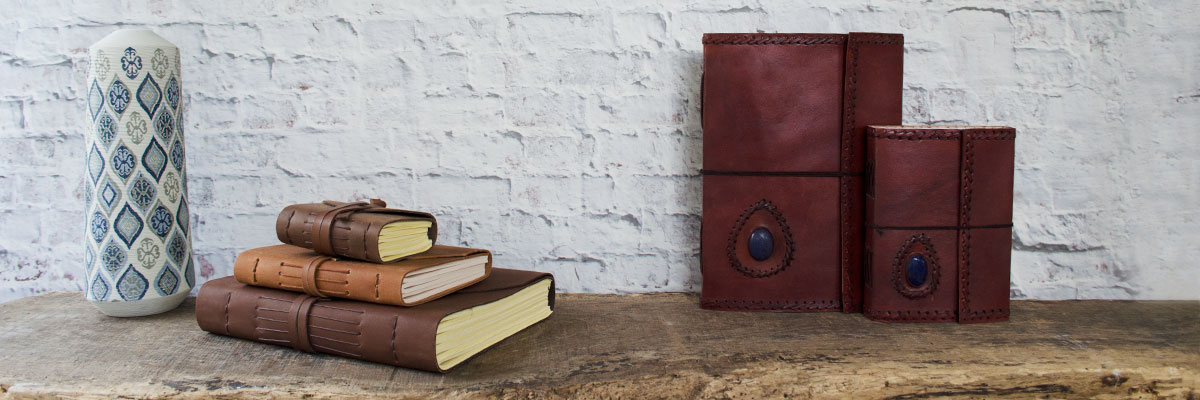 Enya Handmade Leather journals