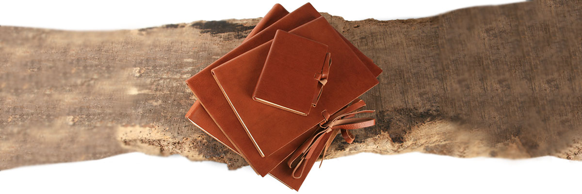 rustico handmade photo album