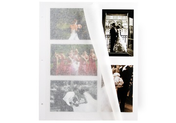 Picture of Archiva Classic Card Extra Large Photo Album Pages White