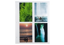 Picture of Archiva Large White 4x6 Pockets Photo Album Pages
