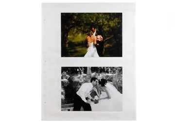 Picture of Archiva 5x7 Pockets Large Photo Album Pages White