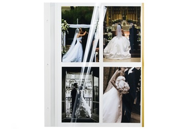 Picture of Archiva Self Adhesive Large Photo Album Pages White