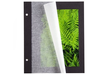 Picture of Archiva Classic Card Small Photo Album Pages Black