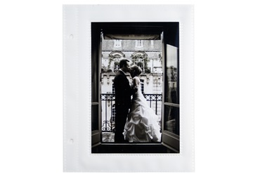 Picture of Archiva 4x6 Pockets Small Photo Album Pages White