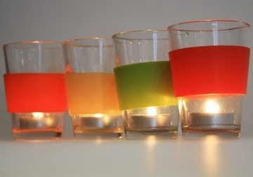 Picture of Assembly Translucent Small Tea Light Holder Mixed