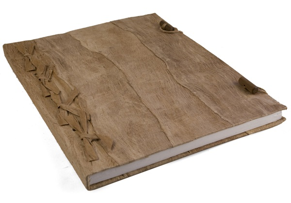Picture of Bark Handmade Extra Large Journal Natural Plain