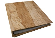 Picture of Bark Handmade Large Post Bound Photo Album Natural
