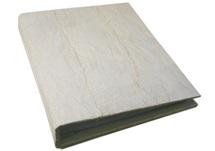 Picture of Bark Handmade Large Post Bound Photo Album White