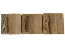 Picture of Bark Handmade Mini Stocking filler Natural Plain