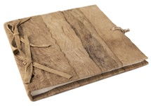 Picture of Bark Mini Natural Handmade Photo Album