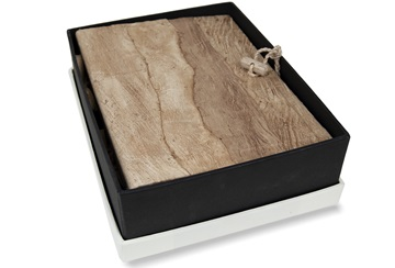 Picture of Bark Handmade Small Photo Album Natural