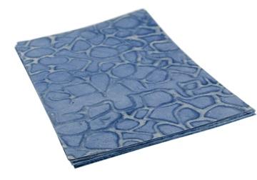 Picture of Batik A4 Blue Giraffe Handmade Paper
