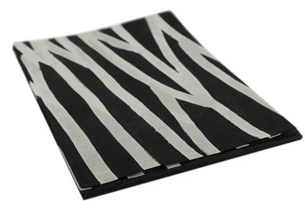 Picture of Batik Zebra A4 Handmade Paper Harlequin