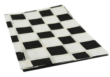 Picture of Batik Chess A4 Handmade Paper White and Black
