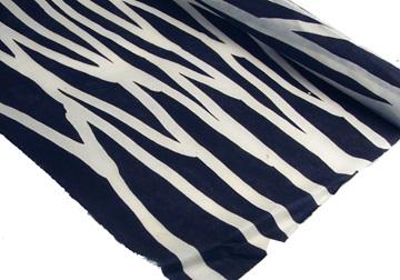 Picture of Batik Zebra Poster Handmade Paper Harlequin
