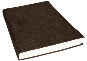 Picture of Bellagio Large Chocolate Handmade Italian Leather Bound Journal