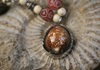 Picture of Bohemian Inca Tortoise Beaded Necklace Brown