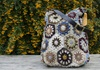 Picture of Bohemian Crochet Knitted Large Handbag Kaleidoscopic