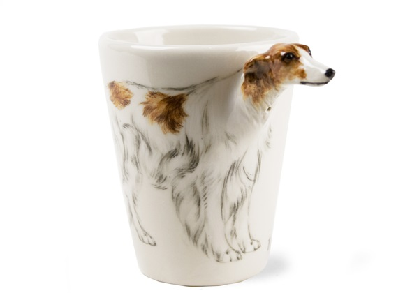 Picture of Borzoi Handmade 8oz Coffee Mug Cream