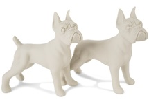 Picture of Boxer Handmade Unpainted Ceramics Mini Unpainted Cruet Set Unglazed