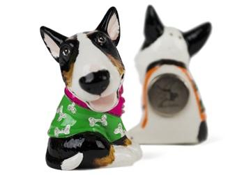 Picture of Bull Terrier Handmade Mini Fridge Magnet Black