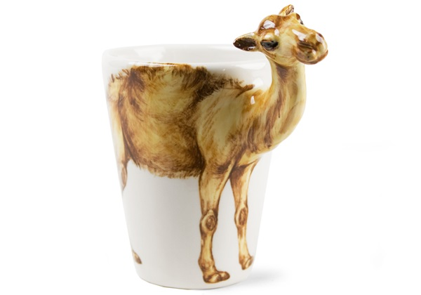 Picture of Camel Handmade 8oz Coffee Mug Tan