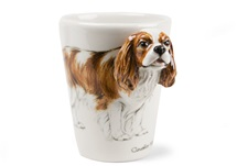 Picture of Cavalier King Charles Handmade 8oz Coffee Mug Blenheim