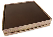 Picture of Chianti Handmade Italian Leather Bound Extra Large Photo Album Chocolate