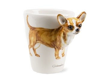 Picture of Chihuahua Handmade 8oz Coffee Mug Fawn
