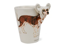 Picture of Chinese Crested Handmade 8oz Coffee Mug Brown