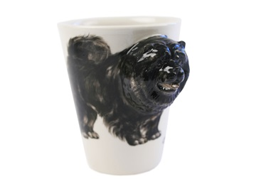 Picture of Chow Chow Handmade 8oz Coffee Mug Black