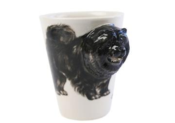 Picture of Chow Chow Handmade 8oz Coffee Mug Black