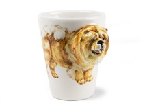 Picture of Chow Chow Handmade 8oz Coffee Mug Fawn