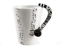 Picture of Clarinet Handmade 8oz Coffee Mug Black