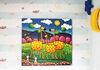Picture of Cool Art GIRAFFITI Extra Large Painting Amber