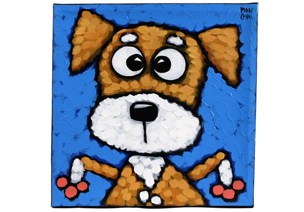 Picture of Cool Art FRANKIE Small Tablet Blue