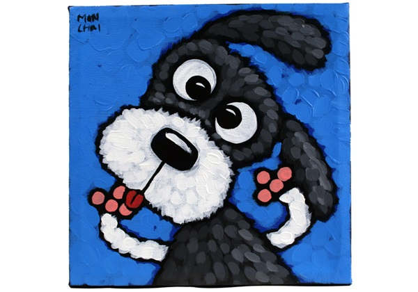 Picture of Cool Art ''skipper'' Small Tablet Blue
