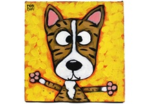 Picture of Cool Art ''lenny'' Small Tablet Cognac Honey