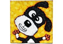 Picture of Cool Art ''smokey'' Small Tablet Cognac Honey
