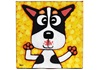 Picture of Cool Art Hand Painted Acrylic Small Painting WILSON