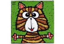 Picture of Cool Art ''stripey'' Small Tablet Green