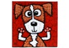 Picture of Cool Art EDDIE Small Tablet Red Golden