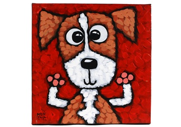 Picture of Cool Art ''eddie'' Small Tablet Red Golden