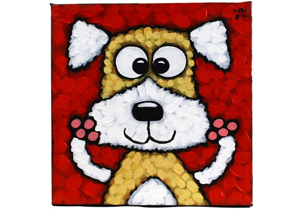 Picture of Cool Art ''milo'' Small Tablet Red Golden