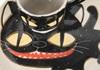 Picture of Coraline Handmade Ceramic Cereal Medium Bowl Black