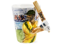 Picture of Cricket Handmade 8oz Coffee Mug Cognac Honey