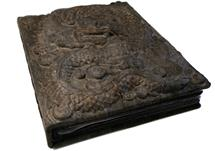 Picture of Dragon Handmade Large Photo Album Ash