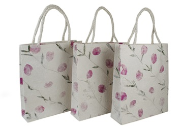 Picture of Eco Handmade Medium Gift Bags Bougainvillea