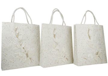 Picture of Eco Handmade Medium Gift Bags Flaura